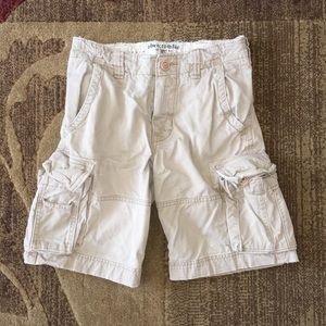 Abercrombie Kids Khaki Shorts